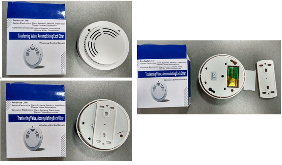 Wireless Smoke Detector EB-1192