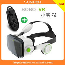 "BOBOVR Z4 3D Virtual Reality Headset VR Glasse for Video Movie Game Compatible with Smartphone within 6"" White"