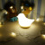 Bird shape Touch LED Silicone Night Lights for kids