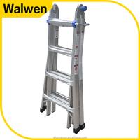 Portable little giant 5 steps household quick folding step ladder aluminum