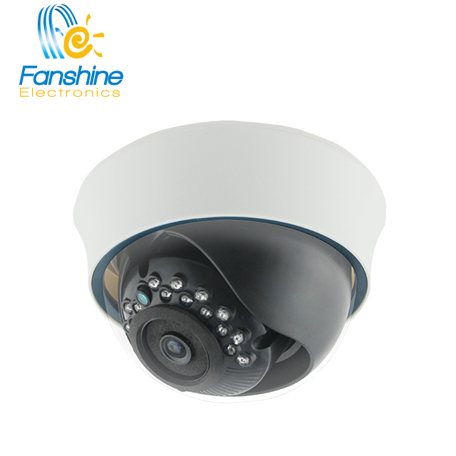 Fanshine Hot Seller Plastic Fixed Dome CCTV Camera 3 Axis Bracket IR Cut IP Camera