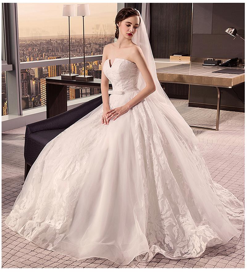 Alibaba Latest Designs Elegant Princess Wedding Dress Bridal Gown ...
