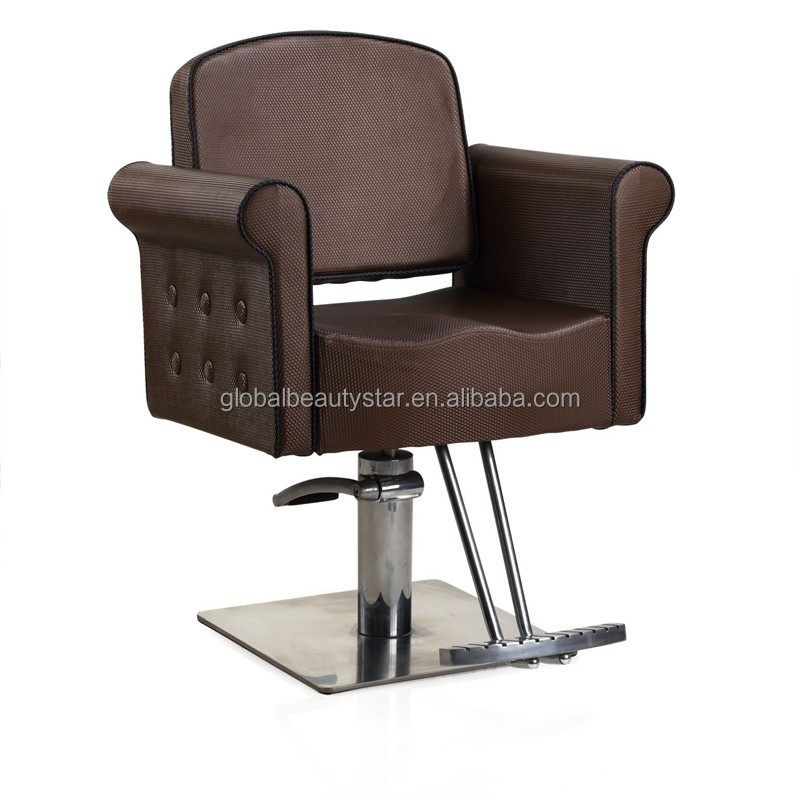 Beautystar antique dressing chair luxury gold beauty hair salon furniture CHB-1045(new style & with headrest
