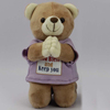 Custom Pray Teddy Bear,Cute Stuffed Plush Teddy Bear with Custom T-Shirt
