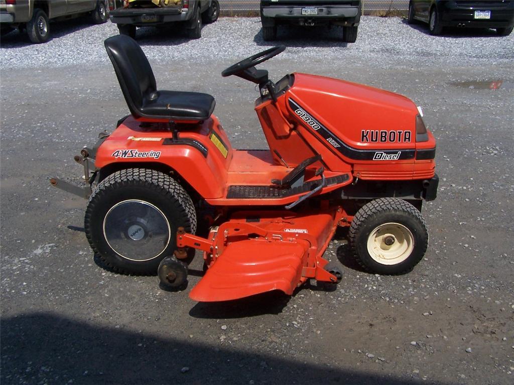 Kubota G1900 54 Diesel Lawn Mower Garden Tractor Hydro Buy