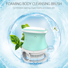 New Arrival best-selling products waterproof rechargeable electric silicone bath body brush