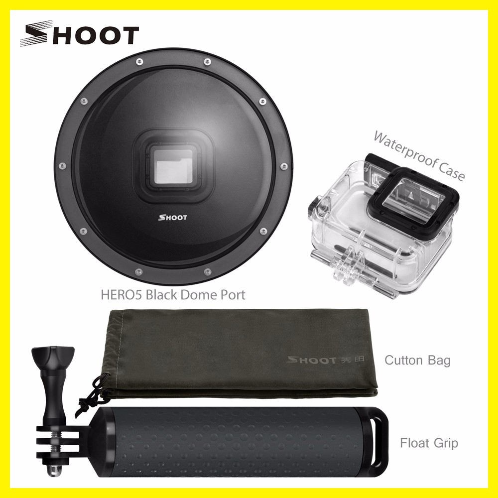 New for gopro Hero5 UnderWater Dome Port Camera AccessoriesFor The for Go Pro Hero5