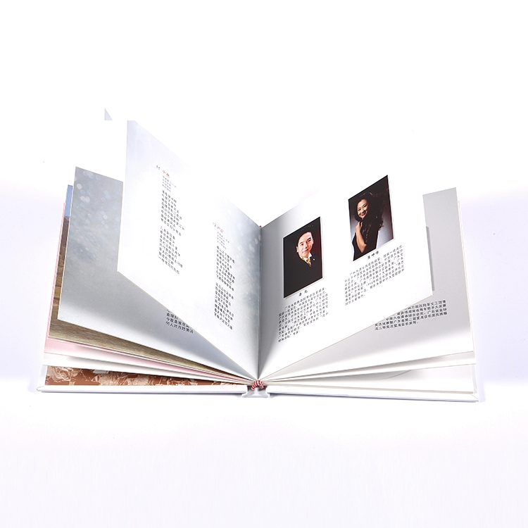 Wholesale cheap hardcover printing service in China