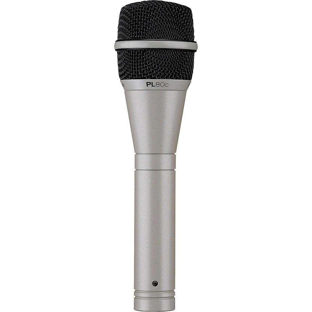 Electro-Voice PL80 Dynamic Microphone Classic Finish