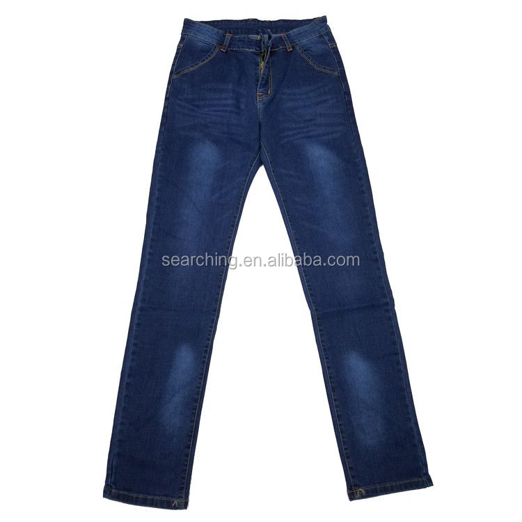 cheap classical simple style man jeans in dubai 2017 high quality