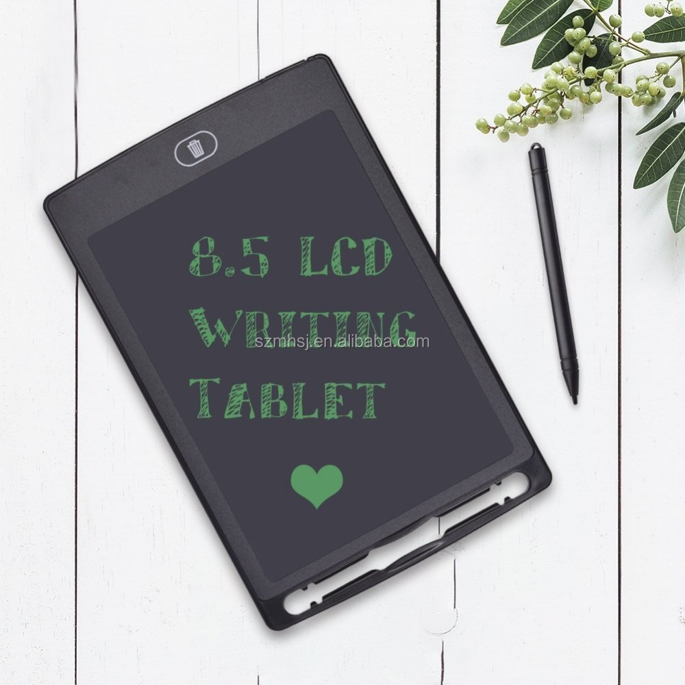 Message Board,LCD Writing Tablet 3 Pcs 8.5 Inch Childrens Drawing Board LCD Handwriting Board Non-Magnetic Drawing Board for Business,Home Message Board,Kid