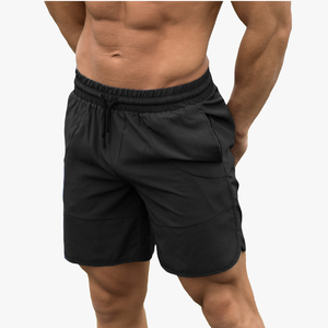 Gym wear high quality polyester crossfit shorts mens breathable gym shorts