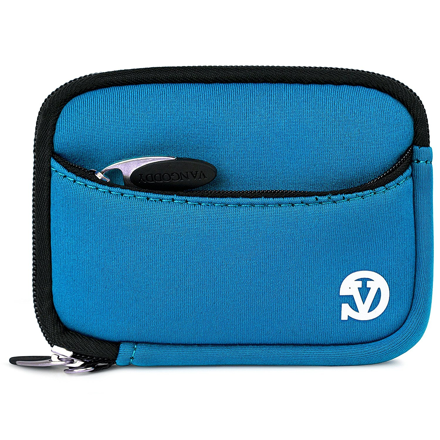 VanGoddy Mini Glove Sleeve Pouch Case for Panasonic Lumix DMC Series Point & Shoot Digital Cameras (Sky Blue)