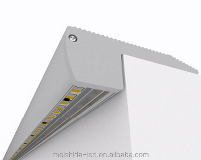 Lighting Basement Washroom Stairs: Stair Nosing Led Strips Light Profiles Aluminum Mounting