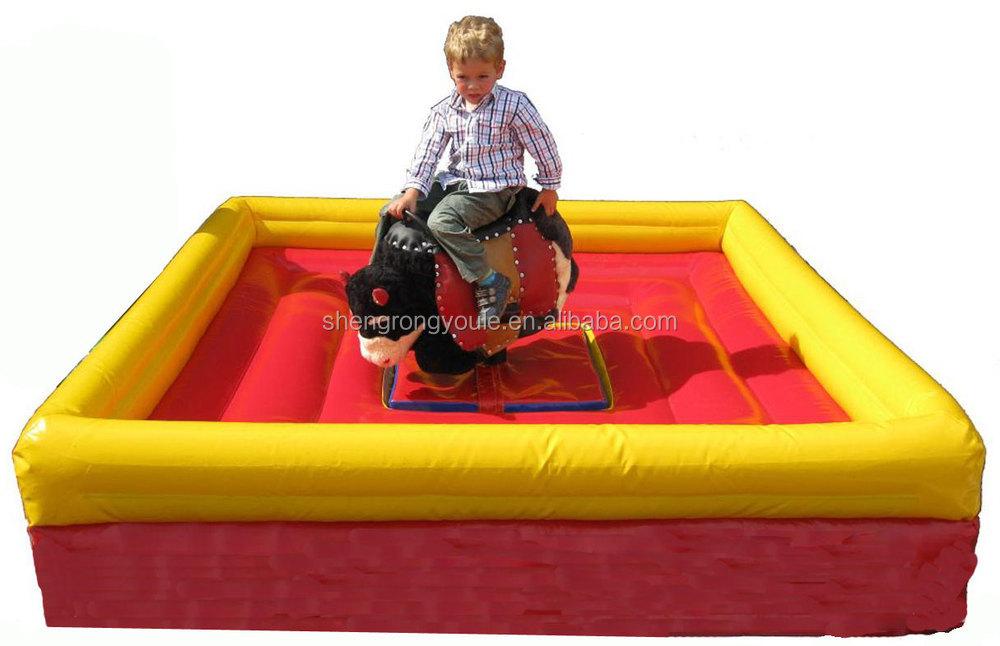 Mini Rodeo Bull For Kids Bull Riding Toys For Kids Bounce
