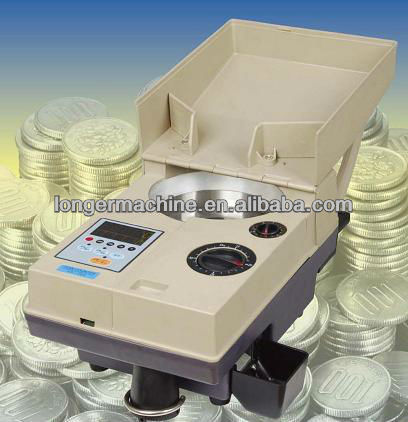 Coin sorting and counting machine|Coin sorting and counting equipment|2014 Hot sell Coin sorting and counting machine