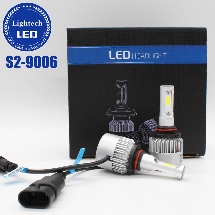 Cheap S2 COB Headlight 72W 8000LM 12V Car LED Bulbs HB4 9006 LED Car Headlight For Motorcycles