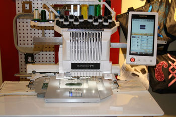 Brother Embroidery Machine Model Pr1000 Buy Used