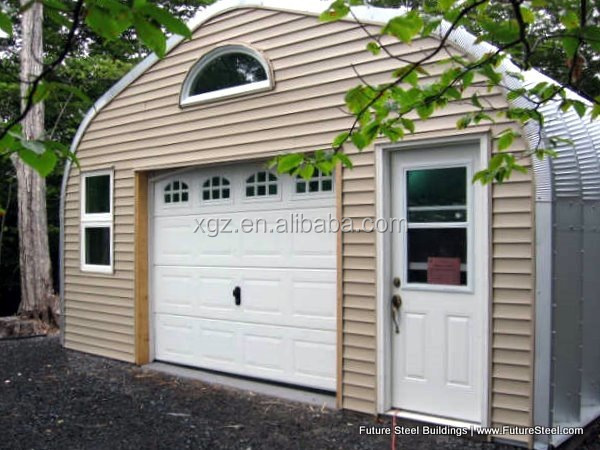 best price A model style steel carport with arched roof in canada
