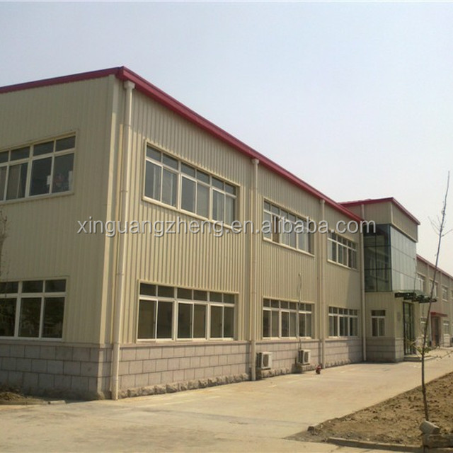 Light Steel Structure Prefabricated Office And Workshop And Warehouse From  China Supplier
