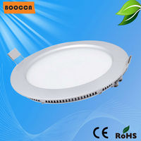Super bright ronde epistar puce boîtier en aluminium panneau de led light