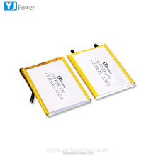High Capacity Rechargeable 3.7V 6000mAh Lithium Polymer Battery