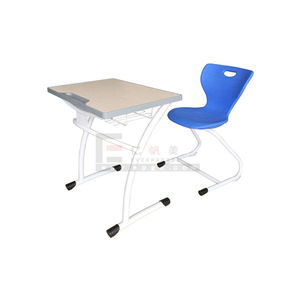 Standard Classroom Kids Children Student Classic Wooden Study Old School Single Seater Desk And Chair