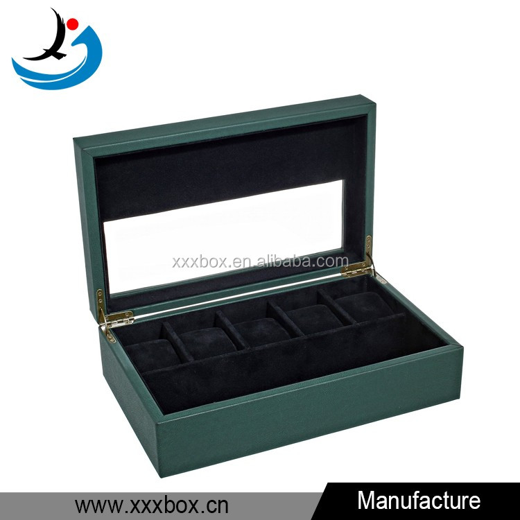 Product name Wooden watch box with glass top luxury ...  sc 1 st  Wholesale Alibaba & Wooden Watch Box With Glass Top Luxury Watch Box Wood With Leather ...