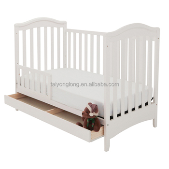 3 in 1 design classic wooden baby crib /baby cot/baby bed