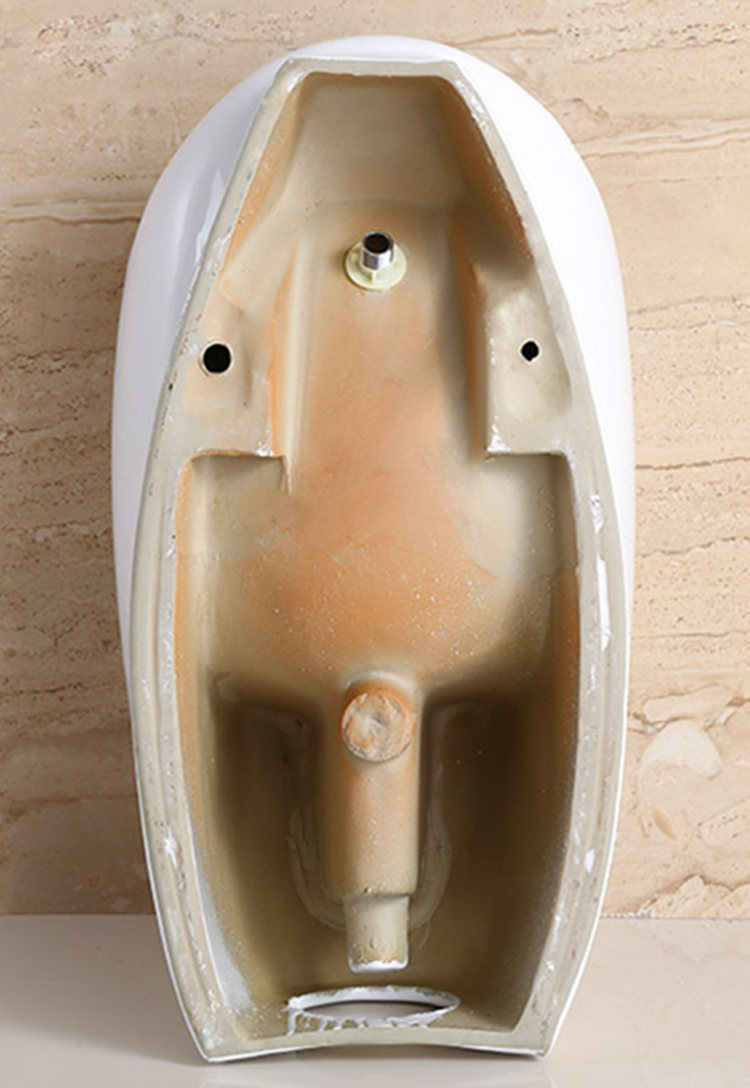 Pottery sanitary ware waterless urinal