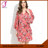 Fung 2801 Stock Available Floral Bridesmaid Cotton Robe