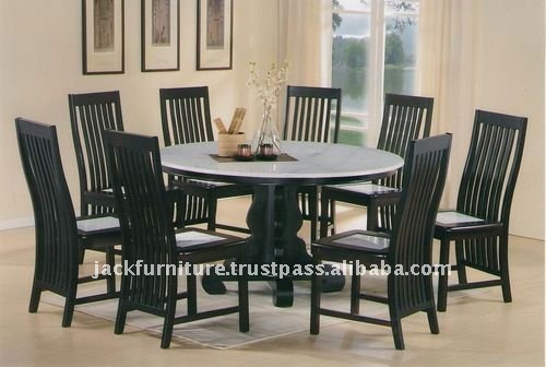 Marble Top Dining Table Sets Round