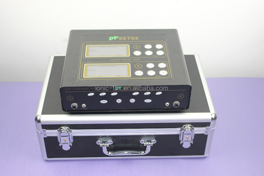 Dual System 2015 Hot Sale Best Ion Foot Detox Spa Machine