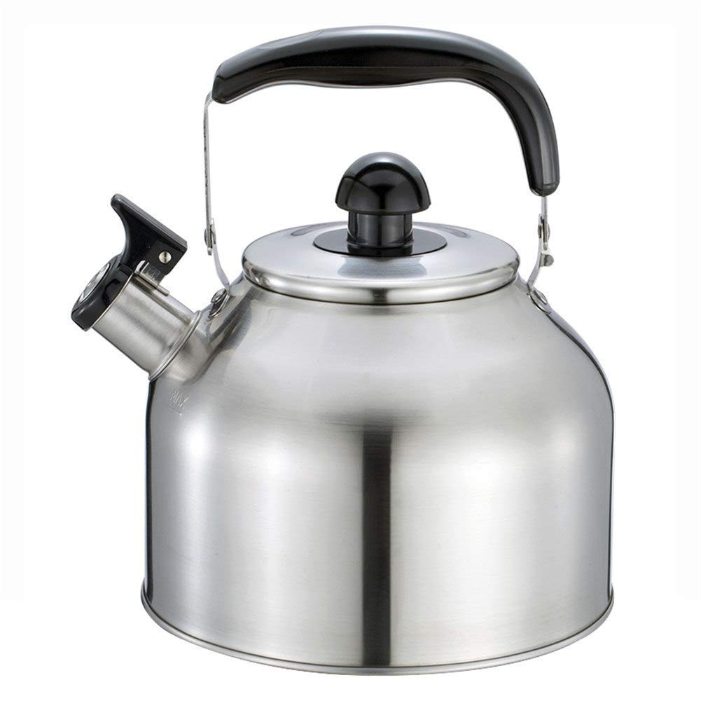 Remeehi Tea Kettle - Stainless Steel Stovetop Teapot,Gas/Induction/Electric/Ceramic/Halogen/Wood Stove Teakettles