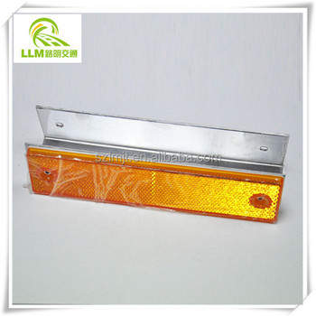 Road Safety Warning Signs Rectangle Reflector Delineator