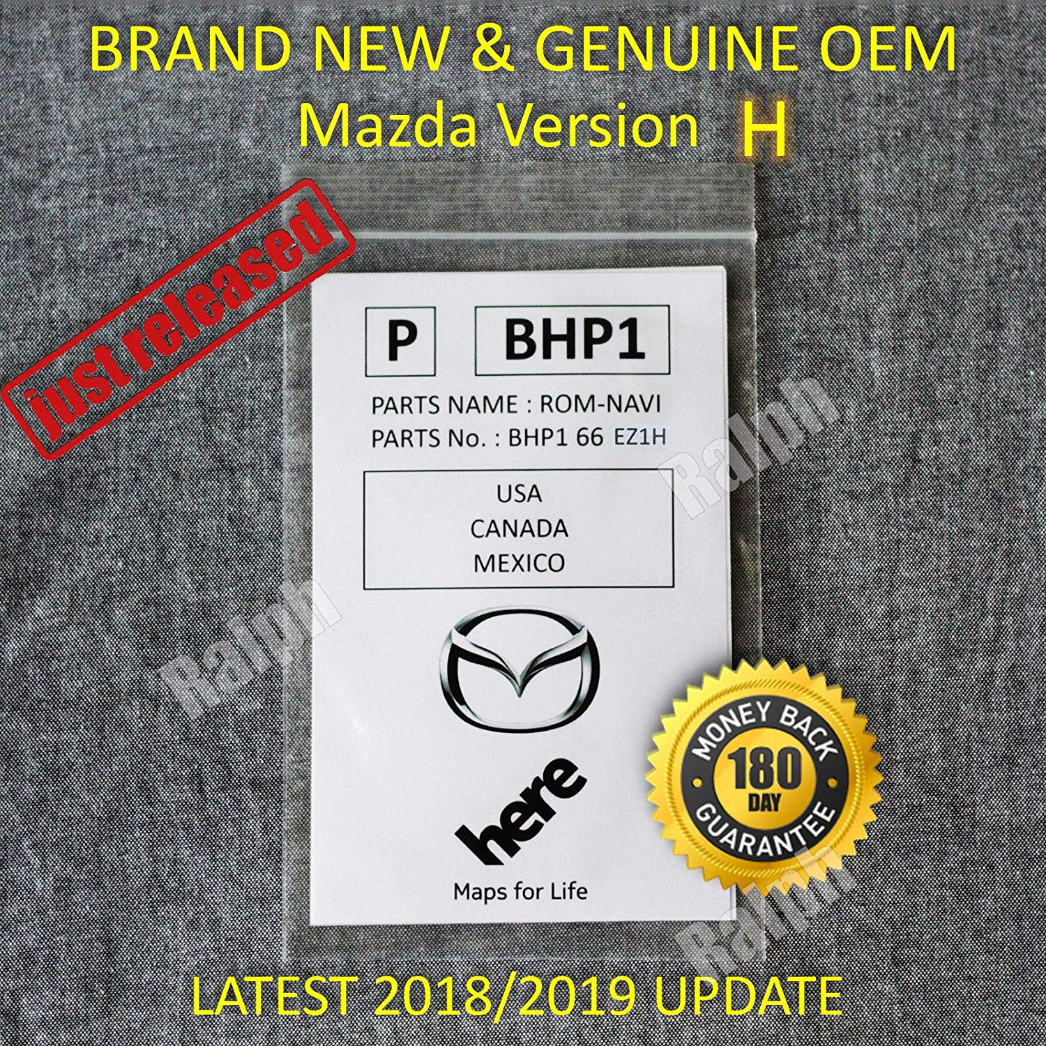 Get Quotations Garden Park 2019 2018 2017 Mazda Navigation Sd Card Bhp1 66 Ez1h 3 6 Cx