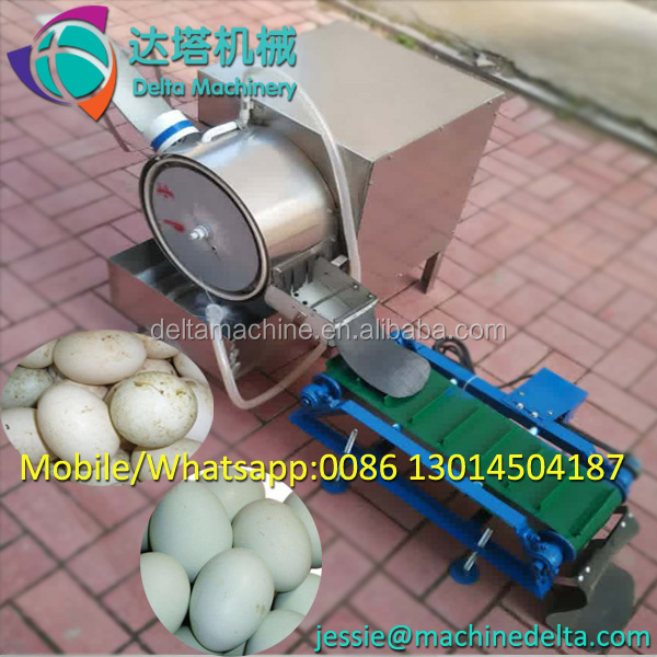 2000 pieces per hour egg or duck egg cleaner/egg cleaning machine
