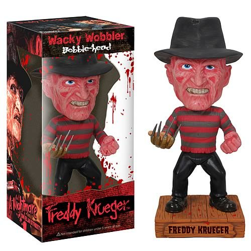 FREDDY KRUEGER BOBBLE HEAD