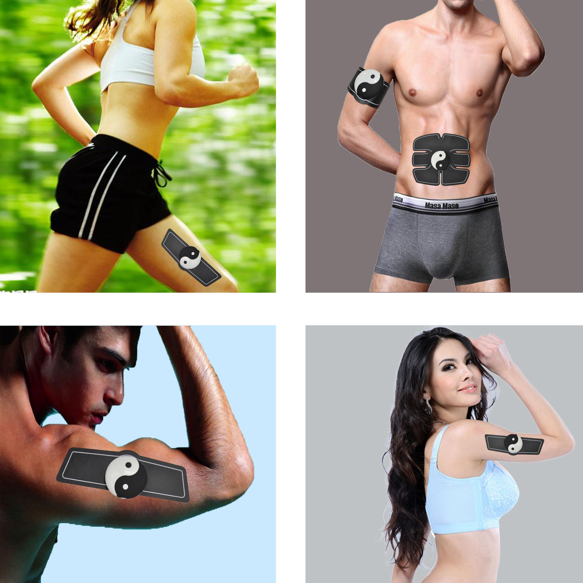 Smart Wireless EMS Massage Muscle Training ABS fitness Stimulator for abdormen hip SUNGPO Manufacturer