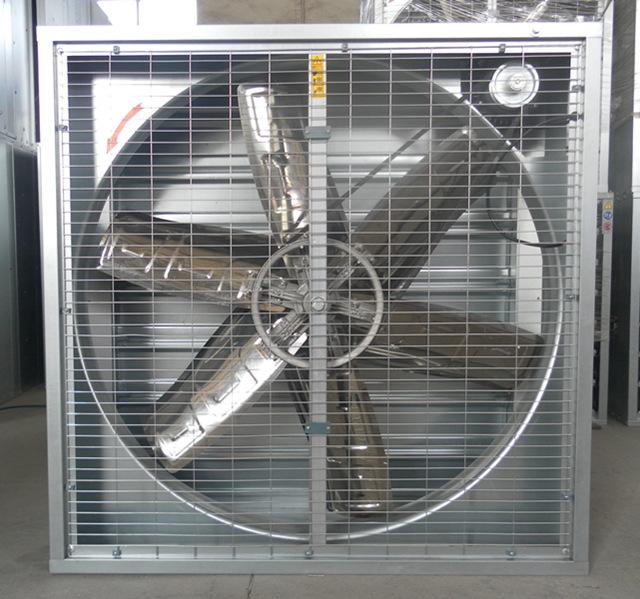 Greenhouse Shutter Fans : Wall window mounted exhaust fan for greenhouses farms