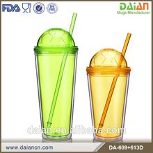 Colored 2016 latest football world cup with straw
