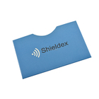 Rfid Blocking Material Protect your Credit Card and Identification info ID Card Protector for Promotion Gift print LOGO