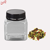 250ml PET clear empty plastic bottle with tamper proof cap,small honey packing plastic jar