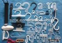 mutifuction Plastic hanger hooks for packaging