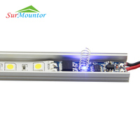 DC 12V voltage mini touch sensor dimmer switch, led strip led touch dimmer