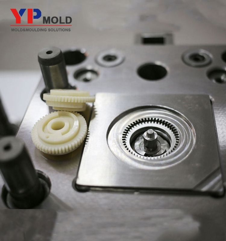 molding plastic injection mold worm gear