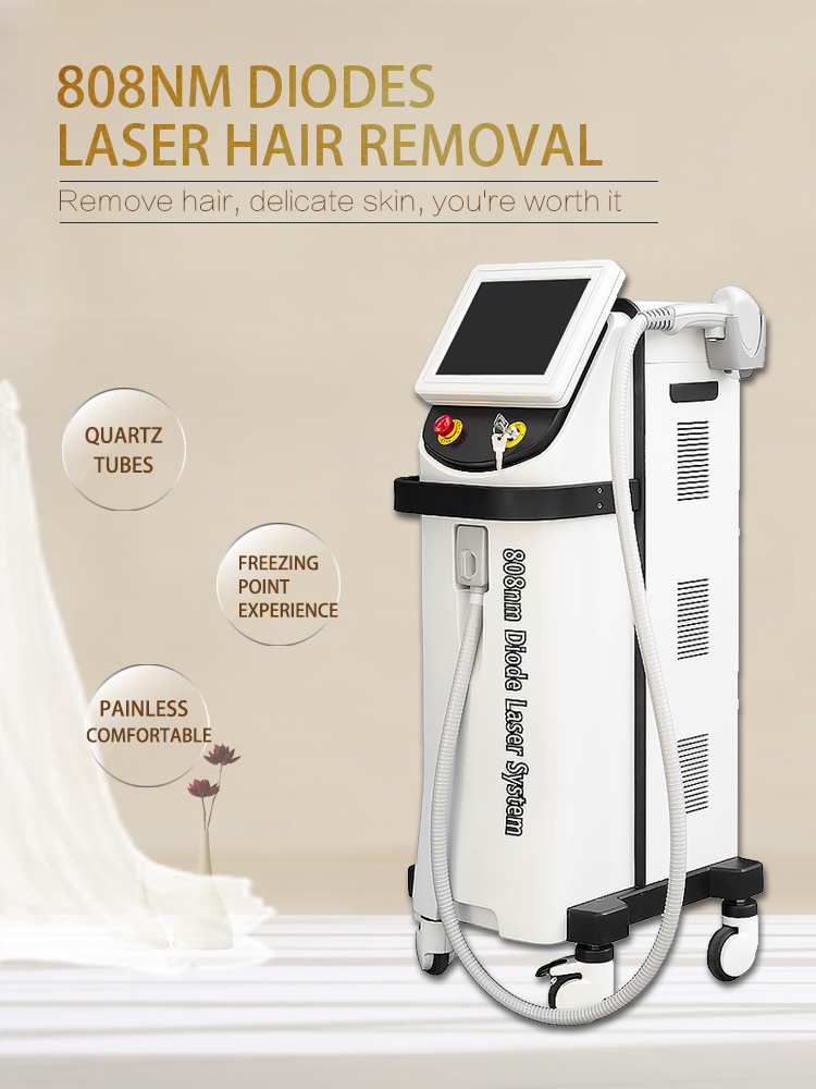 808nm diode laser hair remove machine fast and painless