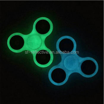 Finger Fluorescent Luminous Spinner Toys Hybrid Ceramic Bearing Ball Fidget Hand Glow In The Dark