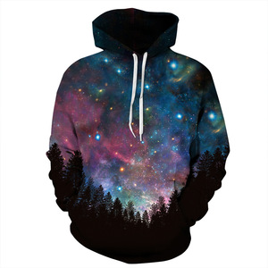 Unisex Sublimation Printed Hooded Sweatshirt 3d Digital Print Hoody