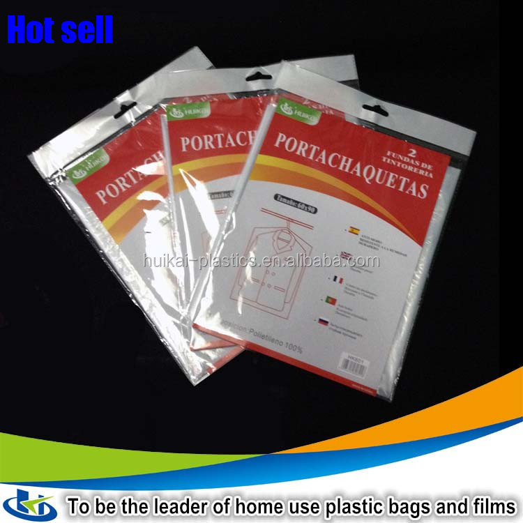 Plastic bag manufacturer malaysia coat hanger clothes dust cover